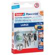 Powerstrips Large bis 2,0kg Haftkraft beidseitig klebend weiß Tesa 58000-00102-10 (PACK=10 STÜCK) Produktbild