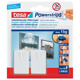 Powerstrips Bilder-Nagel bis 1kg Haftkraft weiß Tesa 58031-00020-01 (PACK=2 STÜCK) Produktbild