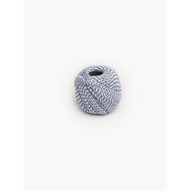 Aktengarn aus Baumwollzwirn 10g blau/weiß 254531 (RLL=10 GRAMM) Produktbild