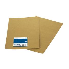 Packpapier 70x100cm braun Natronkraft Milan 955 (PACK=2 BOGEN) Produktbild