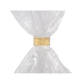 Beutelverschluß- Clipse 44x8mm / gold (KTN=3000 STÜCK) Produktbild