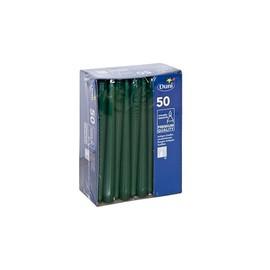 Leuchtkerzen 250x22mm / jägergrün / Duni (PACK=50 STÜCK) Produktbild