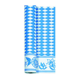 Tischtuch 125cmx10m Bay.-blau Vlies Duni 526821 (RLL=10 METER) Produktbild
