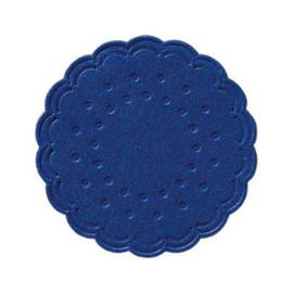 Tassendeckchen Ø7,5cm / dunkelblau / 8-lagig / Zellstoff/ Duni 165727 (PACK=250 STÜCK) Produktbild