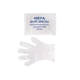 PE Einweghandschuhe Damen transparent / Größe S (PACK=100 STÜCK) Produktbild