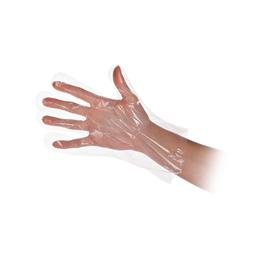 LDPE Einweghandschuhe Polyclassic Soft transparent / Größe L / Spenderbox (BOX=100 STÜCK) Produktbild