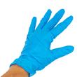 Nitril Einweghandschuhe DC blau / ungepudert / Größe M (BOX=100 STÜCK) Produktbild Additional View 3 S