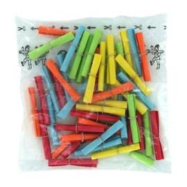 Lose TREFFER von 101-150 bunt gemischt gerollt mit Pappring Wolf & Appenzeller 220101 (PACK=50 STÜCK) Produktbild
