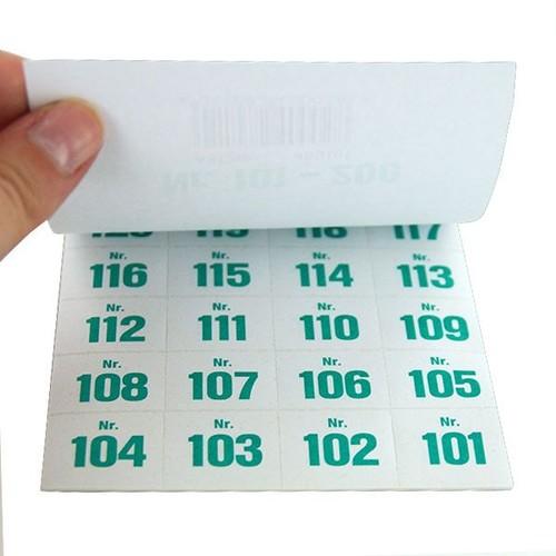 Aufklebenummern fortlaufend 101-200 selbstklebend Wolf & Appenzeller 400101 Produktbild Additional View 1 L