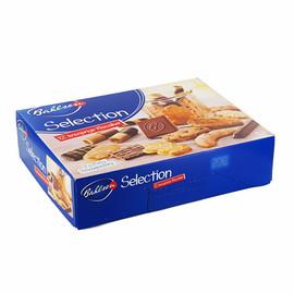 Keks- und Waffelmischung mit Vollmilch- schokolade (19%) und edelherber Schoko- lade (6,1%) Gebäckmischung Selection (PACK=2x 250 GRAMM) Produktbild