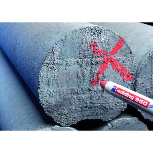 Industry Painter 950 10mm Rundspitze weiß Edding 4-950049 Produktbild Additional View 2 L