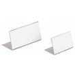 Tischnamensschild L-Form 61x150mm transparent Acryl Durable 8054-19 Produktbild