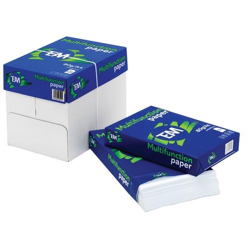 Kopierpapier Multifunktion Team Paper A3 80g weiß holzfrei 148CIE (PACK=500 BLATT) Produktbild Front View L