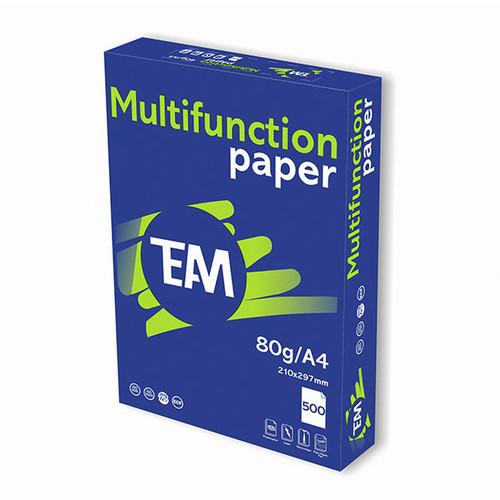 Kopierpapier Multifunktion Team Paper A4 80g weiß holzfrei (PACK=500 BLATT) Produktbild Additional View 1 L