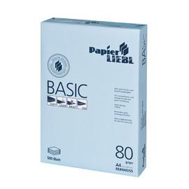 Kopierpapier 1A PAPIER LIEBL Basic A4 80g weiß (PACK=500 BLATT) Produktbild