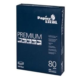 Kopierpapier 1A PAPIER LIEBL Premium A4 80g weiß (PACK=500 BLATT) Produktbild