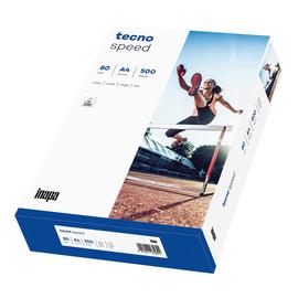 Kopierpapier tecno Speed A4 80g weiß (PACK=500 BLATT) Produktbild