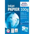 Papier Inkjet Bright White A4 100g hochweiß Zweckform 2566 (PACK=500 BLATT) Produktbild
