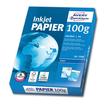 Papier Inkjet Bright White A4 100g hochweiß Zweckform 2566 (PACK=500 BLATT) Produktbild Additional View 1 S