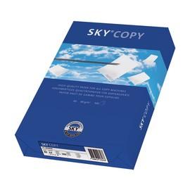 Kopierpapier Sky Copy A4 80g weiß chlorfrei ungelocht ECF 88072807 (PACK=500 BLATT) Produktbild