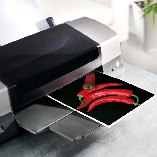 Fotopapier Inkjet Ultra A4 180g superweiß high-glossy Sigel IP675 (PACK=20 BLATT) Produktbild Additional View 2 L