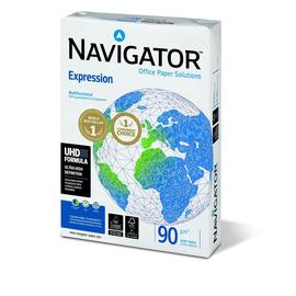 Kopierpapier Navigator Expression A4 90g weiß holzfrei 169CIE (PACK=500 BLATT) Produktbild