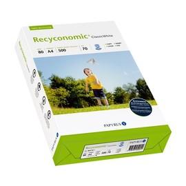 Kopierpapier Recycling Classic White A4 80g 70er Weiße Recyconomic (PACK=500 BLATT) Produktbild