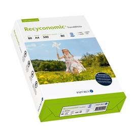 Kopierpapier Trend White A4 ungelocht 80g 80er Weiße Recyconomic 88031824 (PACK=500 BLATT) Produktbild