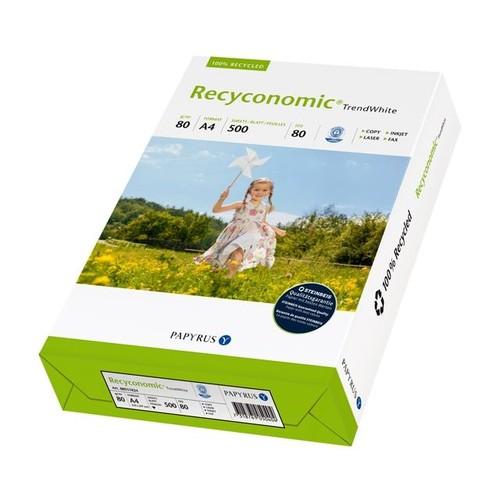 Kopierpapier Pure White A4 80g 90er Weiße Recyconomic (PACK=500 BLATT) Produktbild Additional View 1 L