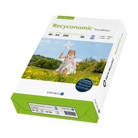 Kopierpapier Trend White A4 2-fach gelocht 80g 80er Weiße Recyconomic (PACK=500 BLATT) Produktbild