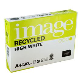 Kopierpapier Image Recycled High White A4 80g Recycling (PACK=500 BLATT) Produktbild