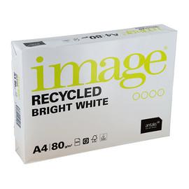 Kopierpapier Image Recycled Bright White A4 80g 160er Weiße Recycling (PACK=500 BLATT) Produktbild
