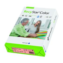Kopierpapier RecyStar Color Pastell A4 80g hellrosa recycling 88152398 (PACK=500 BLATT) Produktbild