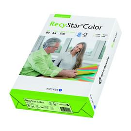 Kopierpapier RecyStar Color Pastell A4 80g hellgrün recycling 88152395 (PACK=500 BLATT) Produktbild