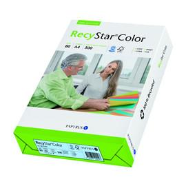Kopierpapier RecyStar Color Pastell A4 80g hellblau recycling 88152399 (PACK=500 BLATT) Produktbild