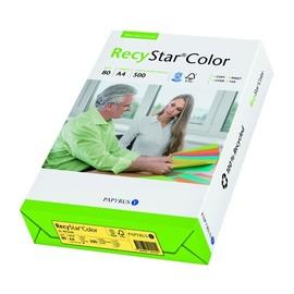 Kopierpapier RecyStar Color Intensiv A4 80g canariengelb recycling 88152400 (PACK=500 BLATT) Produktbild