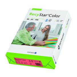 Kopierpapier RecyStar Color Intensiv A4 80g rot recycling 88152402 (PACK=500 BLATT) Produktbild