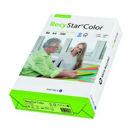 Kopierpapier RecyStar Color Intensiv A4 80g moosgrün recycling 88152403 (PACK=500 BLATT) Produktbild
