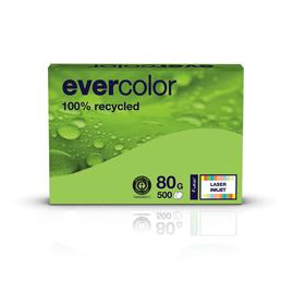 Kopierpapier Evercolor Intensiv A4 80g lindgrün recycling 88300148 (PACK=500 BLATT) Produktbild