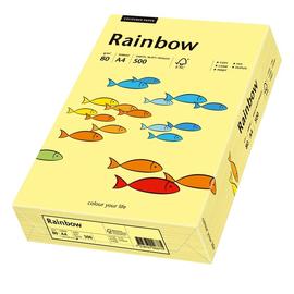 Kopierpapier Rainbow Pastell 12 A4 80g hellgelb 88042297 (PACK=500 BLATT) Produktbild