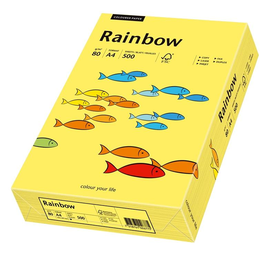 Kopierpapier tecno colors 16 A4 80g gelb (PACK=500 BLATT) Produktbild