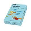 Kopierpapier Rainbow Pastell 84 A4 80g mittelblau 88042717 (PACK=500 BLATT) Produktbild