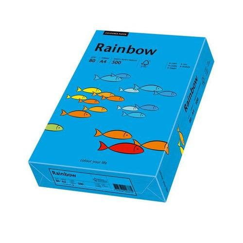 Kopierpapier Rainbow Intensiv 88 A4 80g intensivblau 88042761 (PACK=500 BLATT) Produktbild Front View L