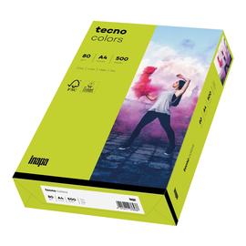 Kopierpapier tecno colors 74 A4 80g leuchtend grün Intensivfarben (PACK=500 BLATT) Produktbild