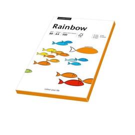 Kopierpapier Rainbow Fluofarben A4 80g neonorange 88043184 (PACK=100 BLATT) Produktbild