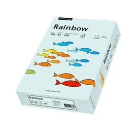 Kopierpapier Rainbow Pastell 82 /Maestro A4 160g hellblau 88042703 (PACK=250 BLATT) Produktbild