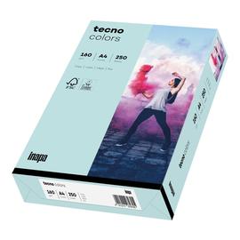 Kopierpapier tecno colors 82 A4 160g hellblau Pastellfarben (PACK=250 BLATT) Produktbild