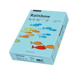 Kopierpapier Rainbow Pastell 84 A4 160g mittelblau 88042725 (PACK=250 BLATT) Produktbild