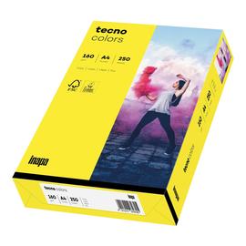 Kopierpapier tecno colors 16 A4 160g gelb Intensivfarben (PACK=250 BLATT) Produktbild