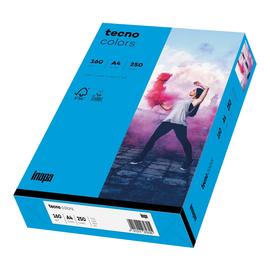 Kopierpapier tecno colors 88 A4 160g intensivblau Intensivfarben (PACK=250 BLATT) Produktbild
